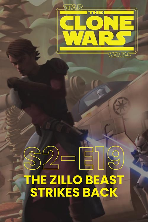 The Clone Wars S02E19: The Zillo Beast Strikes Back