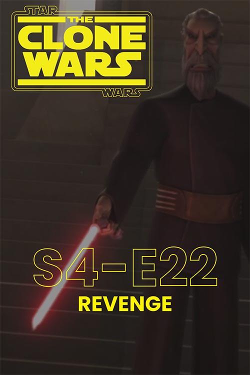 The Clone Wars S04E22: Revenge