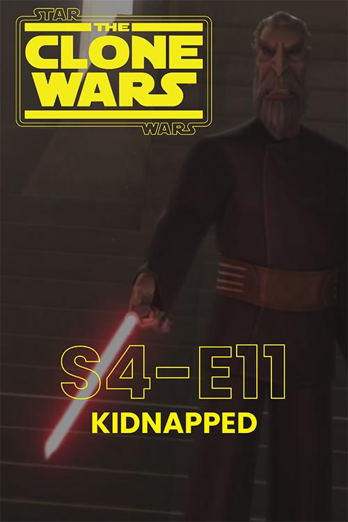 The Clone Wars S04E11: Kidnapped