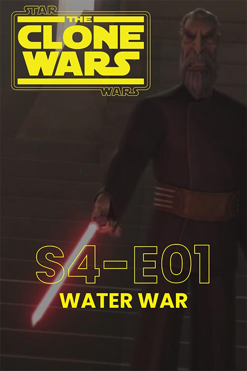The Clone Wars S04E01: Water War
