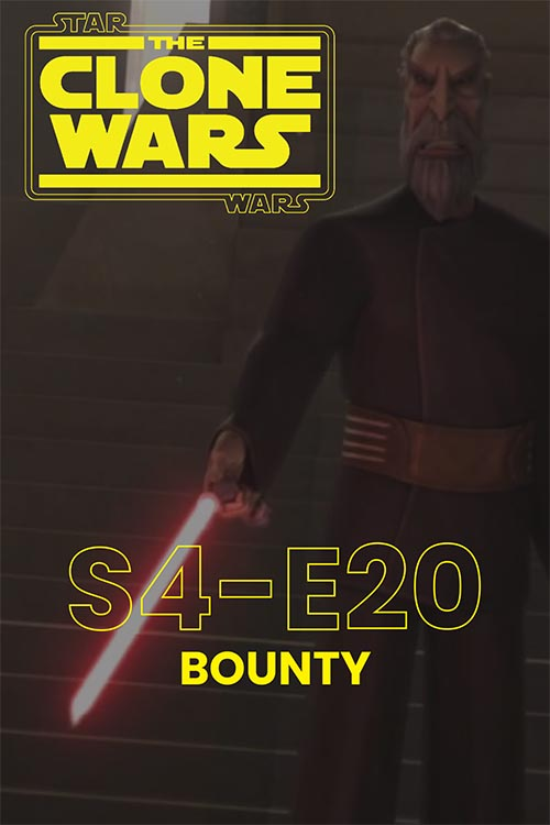 The Clone Wars S04E20: Bounty