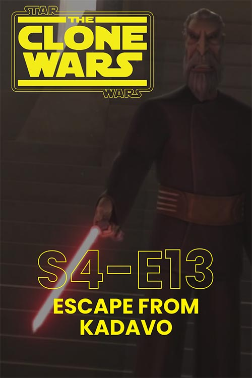 The Clone Wars S04E13: Escape from Kadavo
