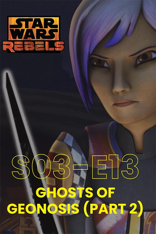 Rebels S03E13: Ghosts Of Geonosis Part 2