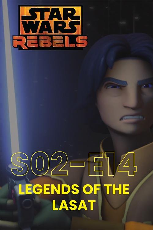 Rebels S02E14: Legends Of The Lasat