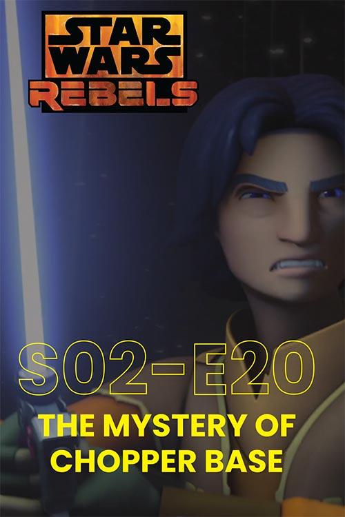 Rebels S02E20: The Mystery Of Chopper Base