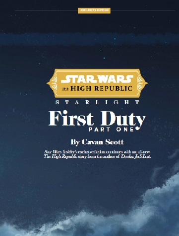 Starlight: First Duty - Part One