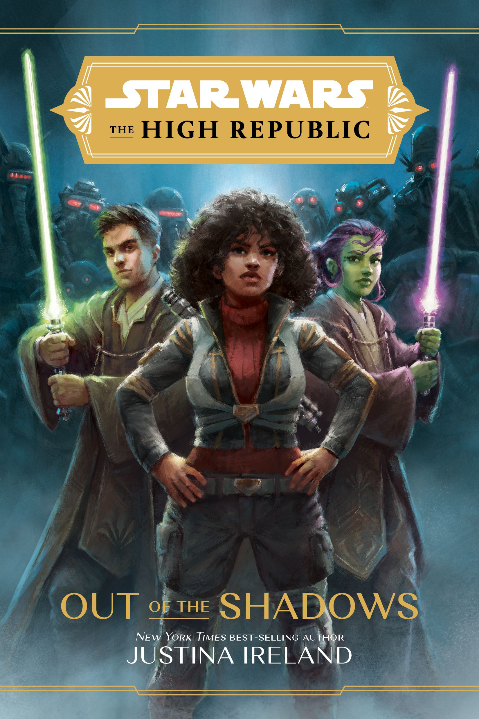 The High Republic: Out of the Shadows main cover