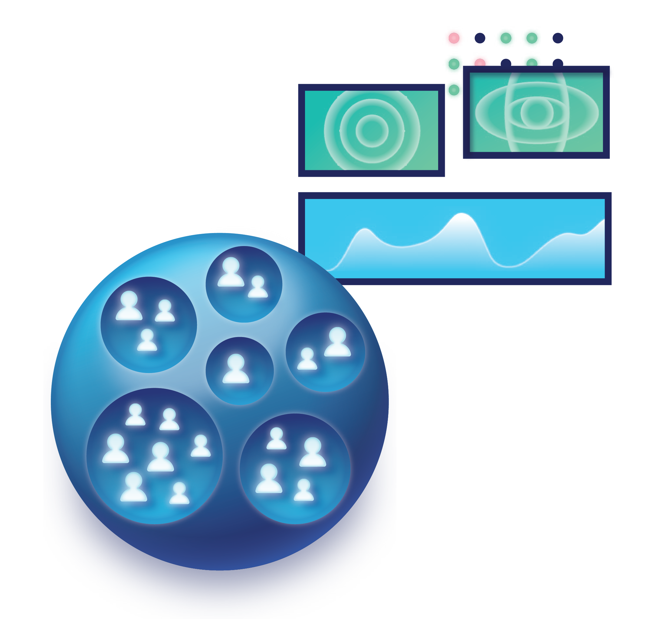 user groups and dashboard icons