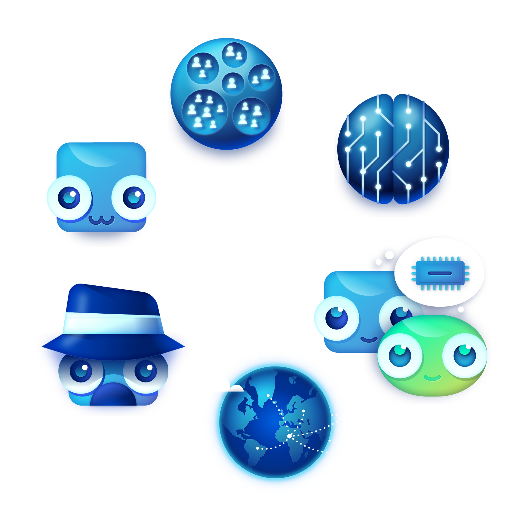 bigabid technology icons