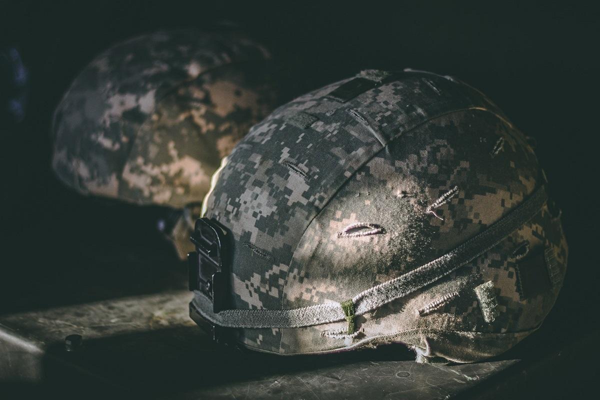 US military helmet
