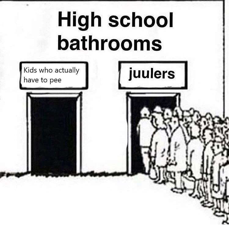 A meme about Juuls