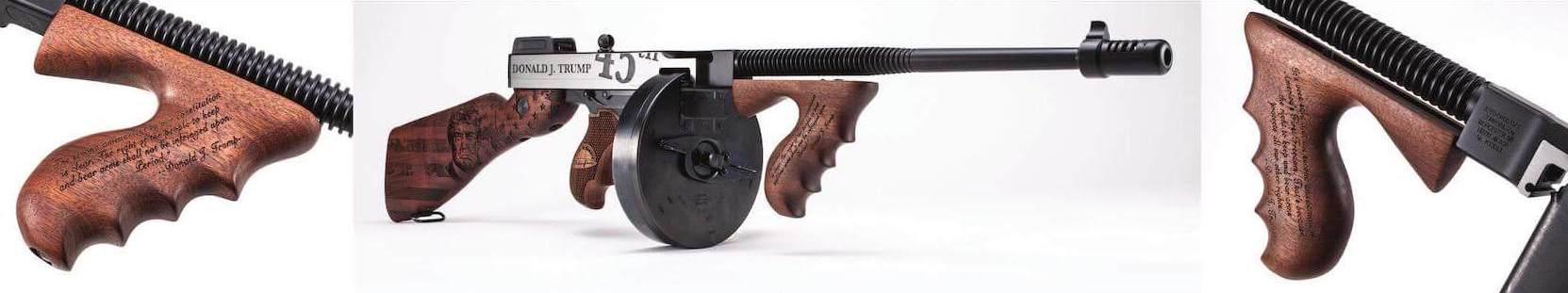trump thompson gun