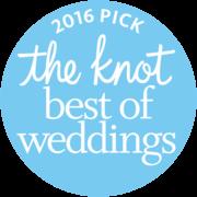2016 The Knot best Wedding Award