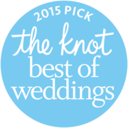 2015 The Knot best Wedding Award