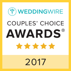 2017 couples choice award from the weddingwire