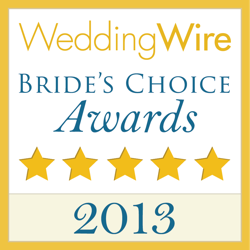2013 brides best of award from weddingwire