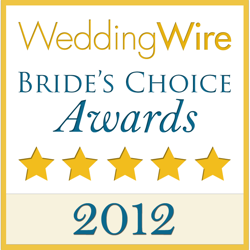 2012 best of brides choice award