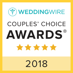 2018 couples choice award from the weddingwire