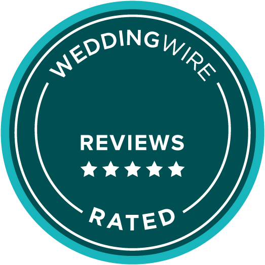 wedding wire five star reviews award icon