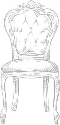 Chair icon symbolizing many spaces to choose from