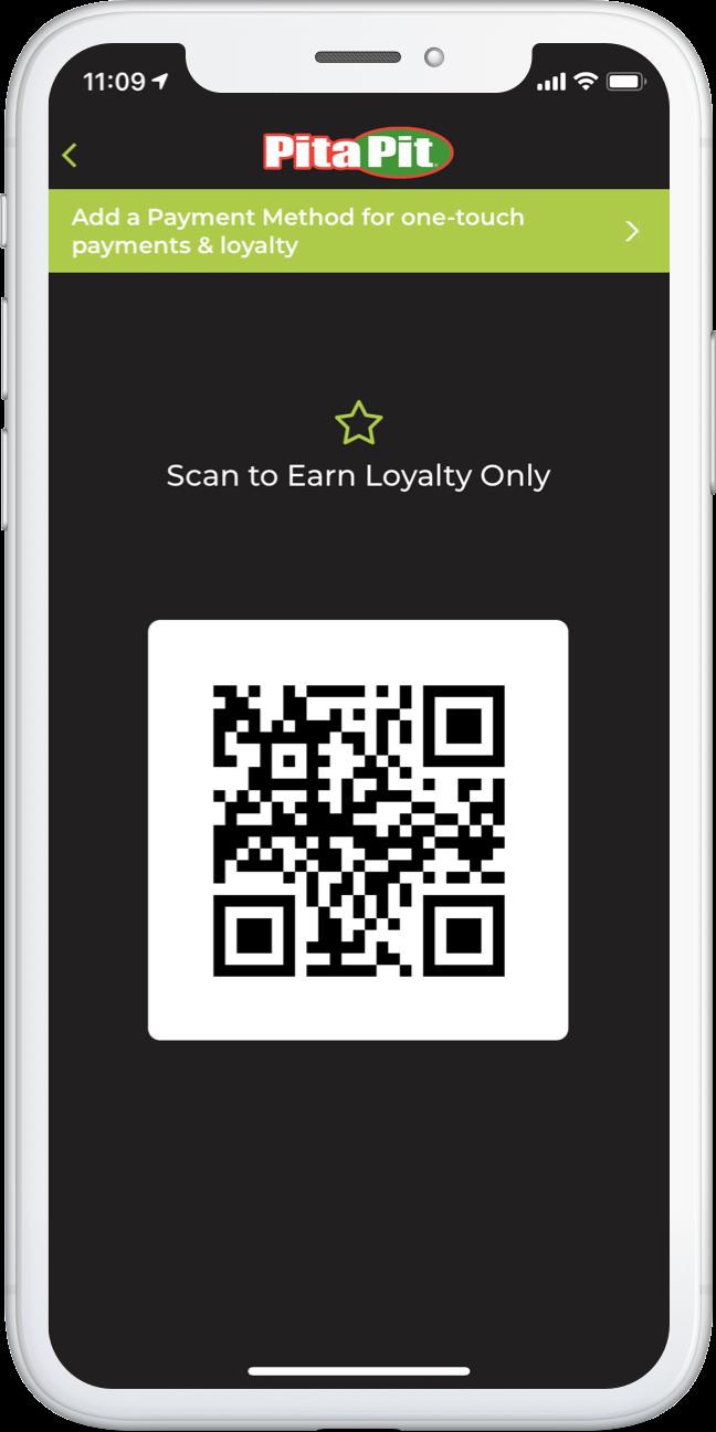 iPhone App Loyalty Scan