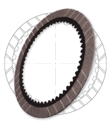 GPZ Friction Clutch Plate