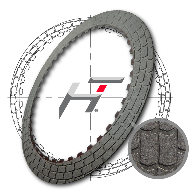 (HT) Hybrid Technology Friction Clutch Plate