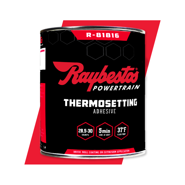 Raybestos Powertrain Thermosetting Adhesives