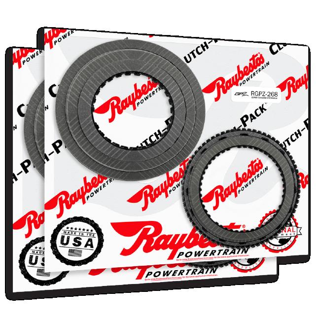 Raybestos Powertrain Clutch-Pack Modules