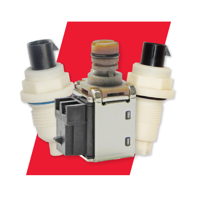 OE Replacement Solenoids & Speed Sensors