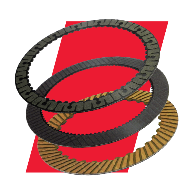 Raybestos Powertrain OE Replacement Friction Clutch Plates