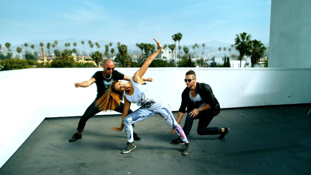 Tv-commercials-red bubble-asher entertainment-bike-bicycle-jump-break-dancing-dancers-bmx-tricks-group