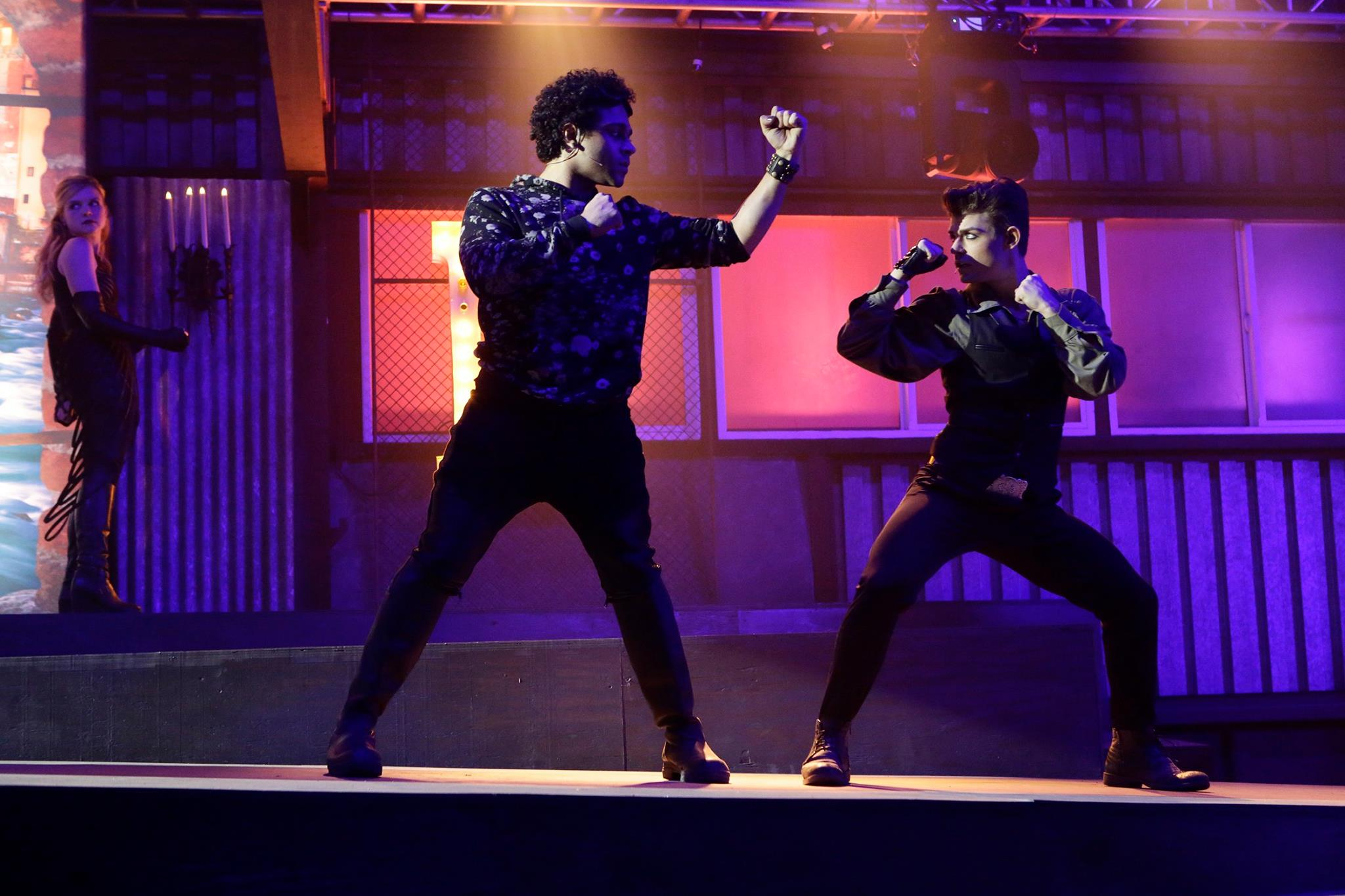 Tv-commercials-the-fosters-asher-entertainment-tv-show-dance-dancers-posing-fight-choreo-stage-set