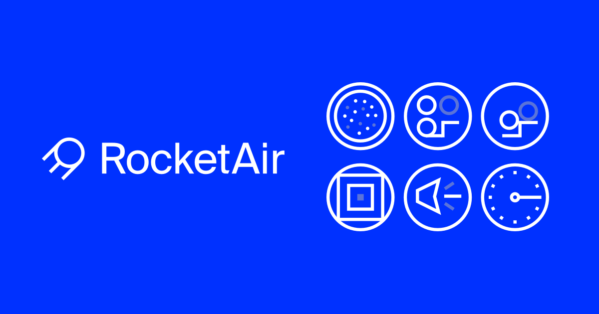 Rocketair a full service design agency for Full service design agency