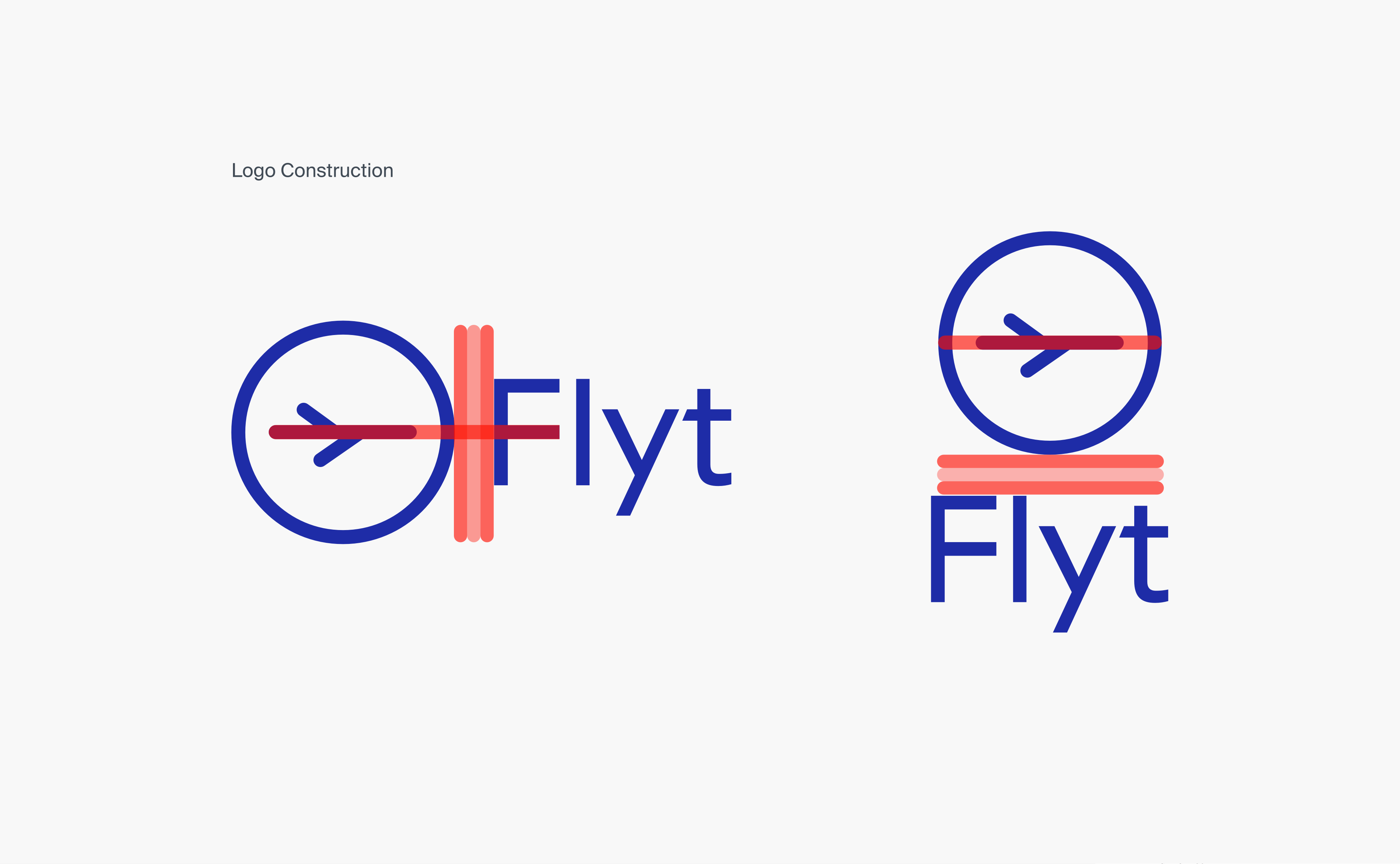 Flyt logo design and branding by RocketAir
