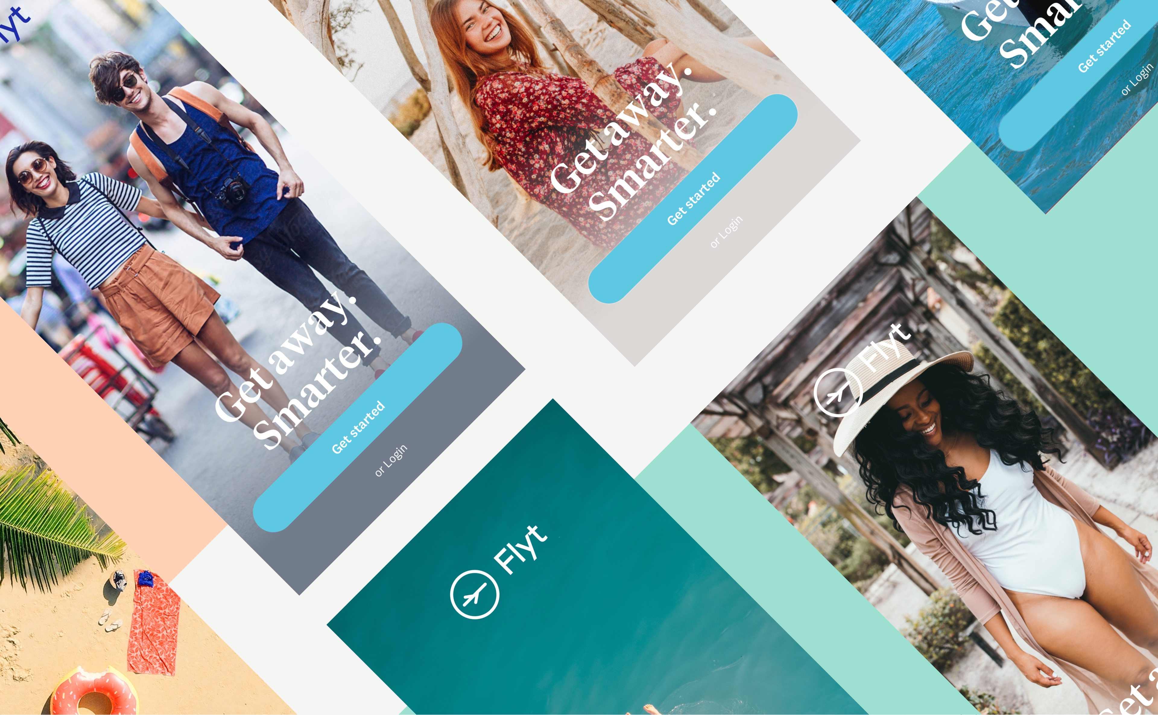 Flyt mobile app design and UX UI design by RocketAir
