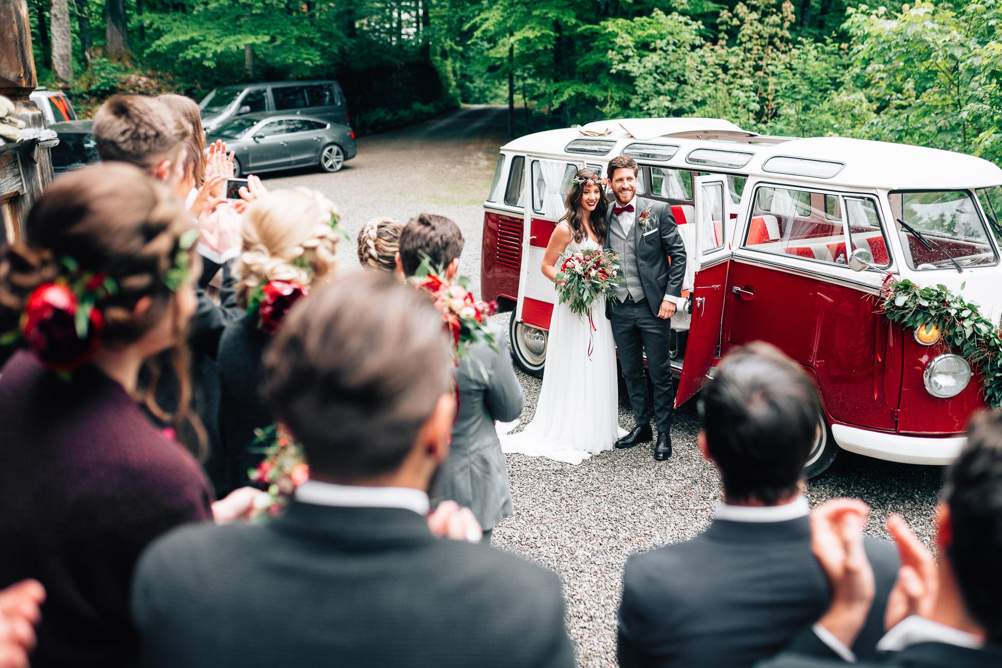 Hochzeit Fahrzeug Vorarlberg