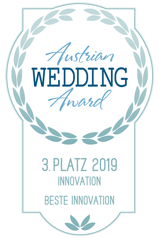 Austrian Wedding Award 3. Platz