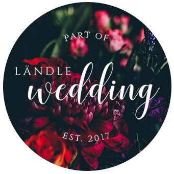 Ländle Wedding Badge