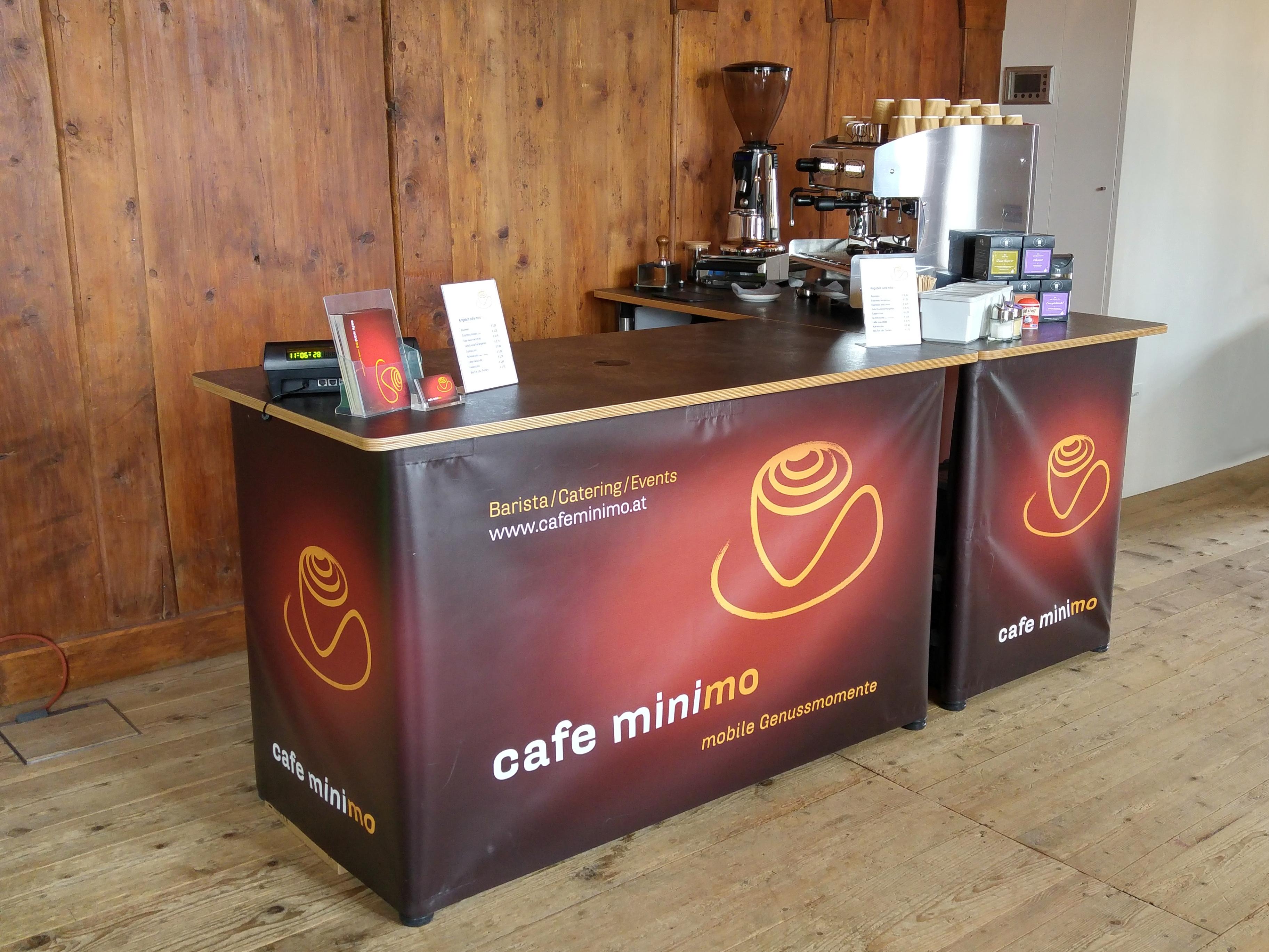 cafe minimo | Die mobile Kaffee-Bar