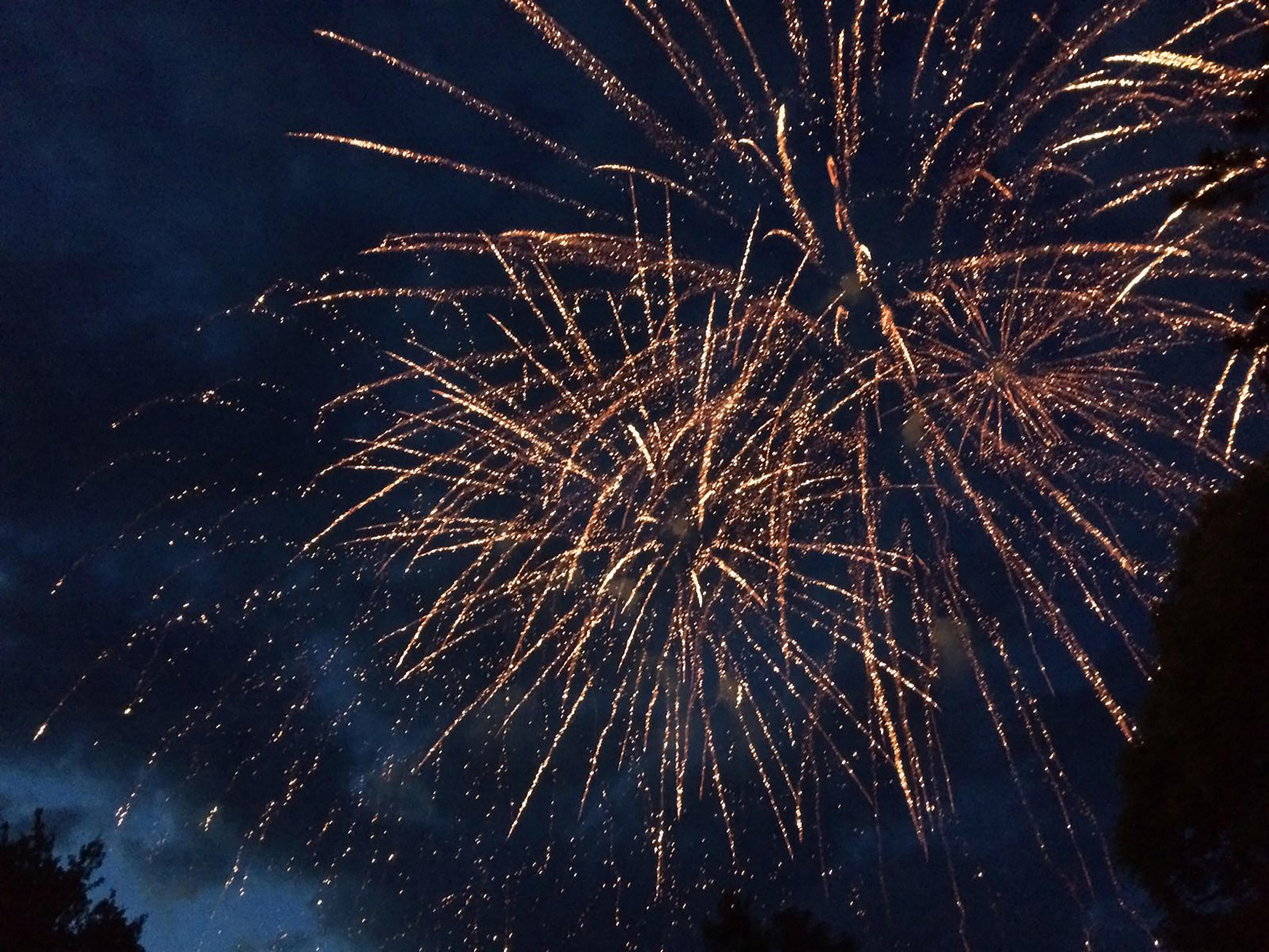 Feuerwerk von Stump Pyrotechnik