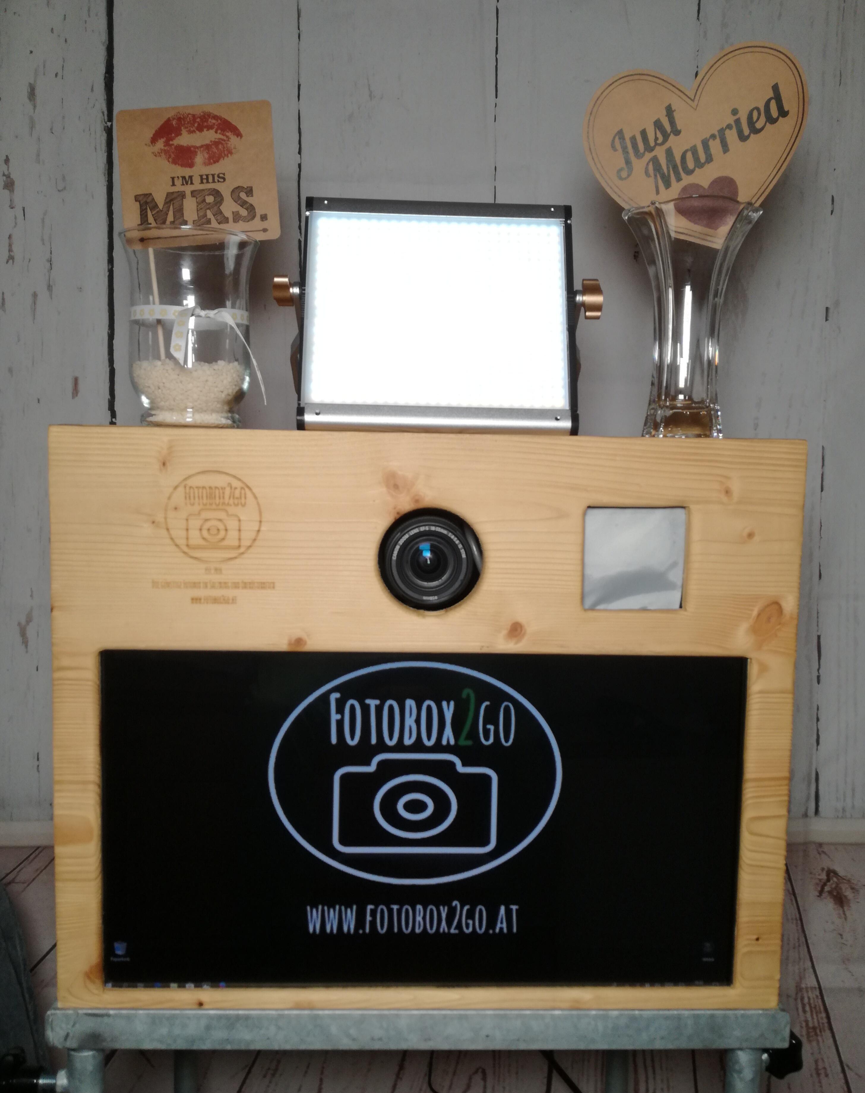 Fotobox2go | Fotobox für eure Hochzeit