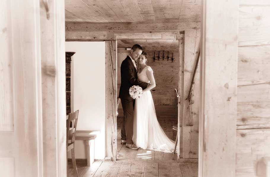 """Hochzeitsfotografin """"Santina Photographie"""""""