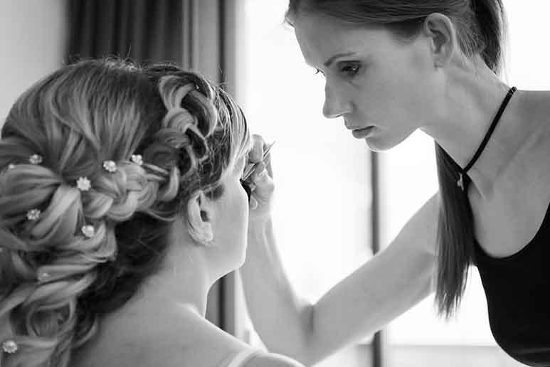 Brautstyling von Salon Perfect