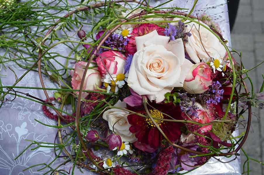 Ideengärtnerei Müller | Hochzeitsdekoration & Floristik