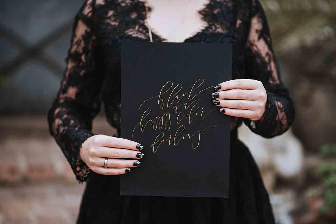 Im Gespräch mit: Kalligrafin Karin Berger