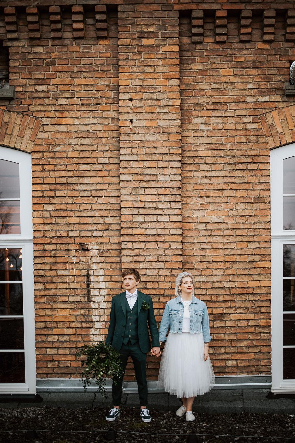 Industrial Wedding in der Fabrik Klarenbrunn