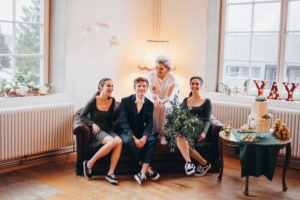 Industrial Wedding in der Fabrik Klarenbrunn