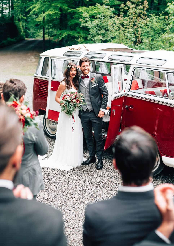 Classic Vans –VW-Bullis für eure Hochzeit