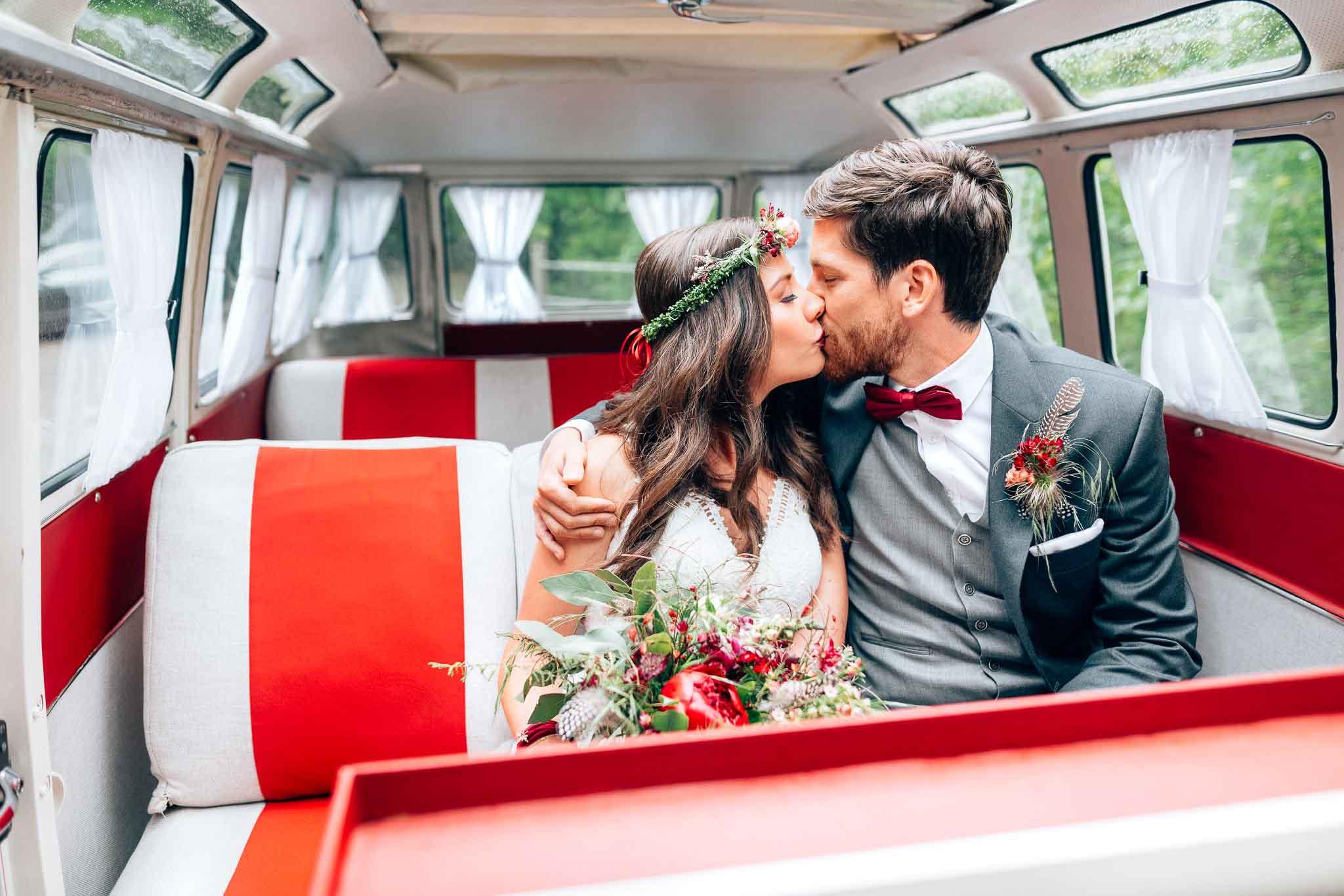 Classic Vans –VW-Bullis / Photobus für eure Hochzeit